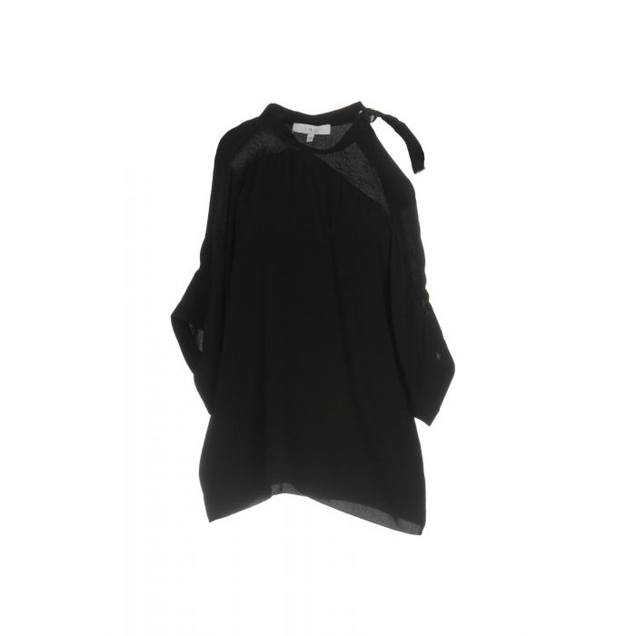 Image for Iro Black Viscose Bluse