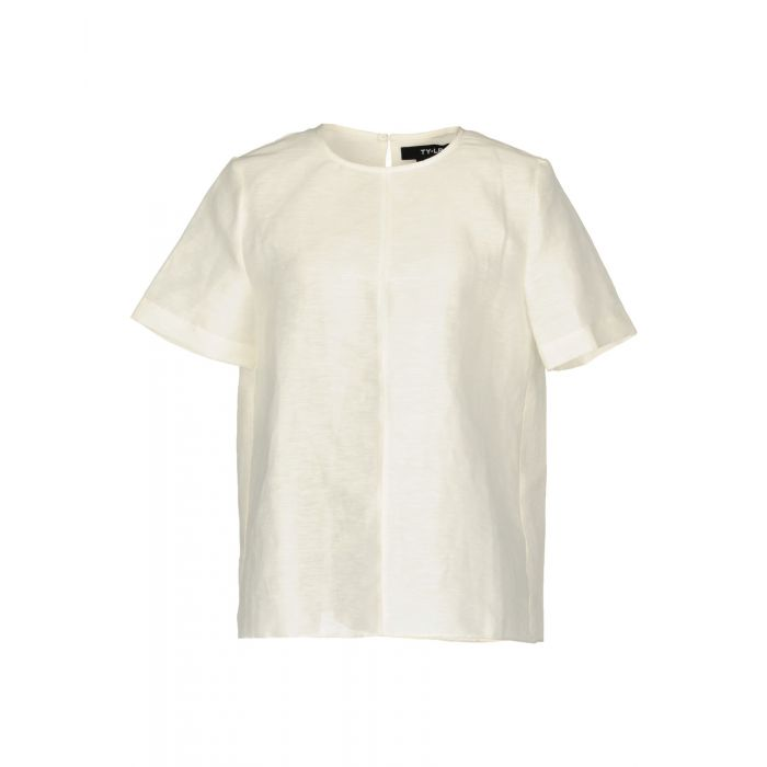 Image for Ty-Lr Woman White Blouses