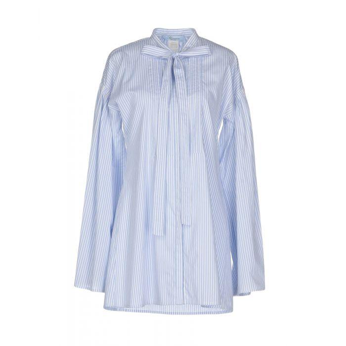 Image for Sky blue cotton shirt