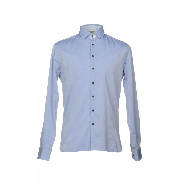 Image for Alessandro Lamura Man Sky blue Shirts