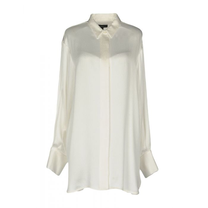 Image for White silk shirt
