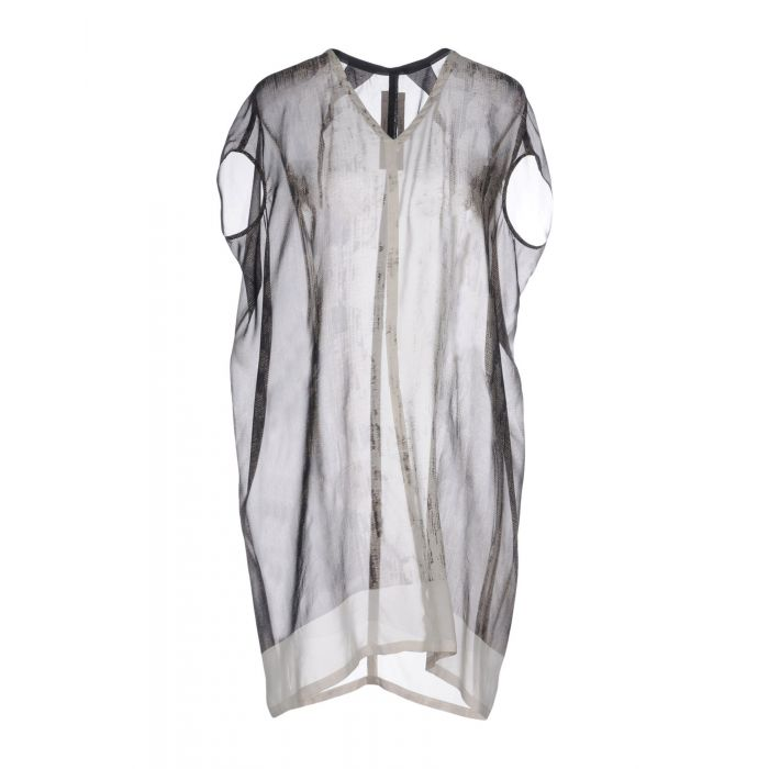 Image for Rick Owens Light grey Silk Bluse
