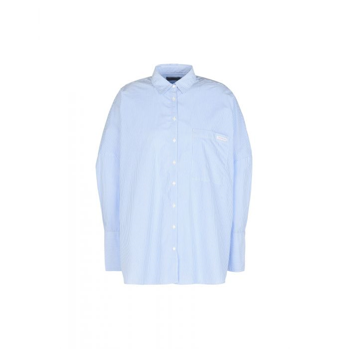 Image for Calvin Klein Jeans Sky blue Cotton Camicie