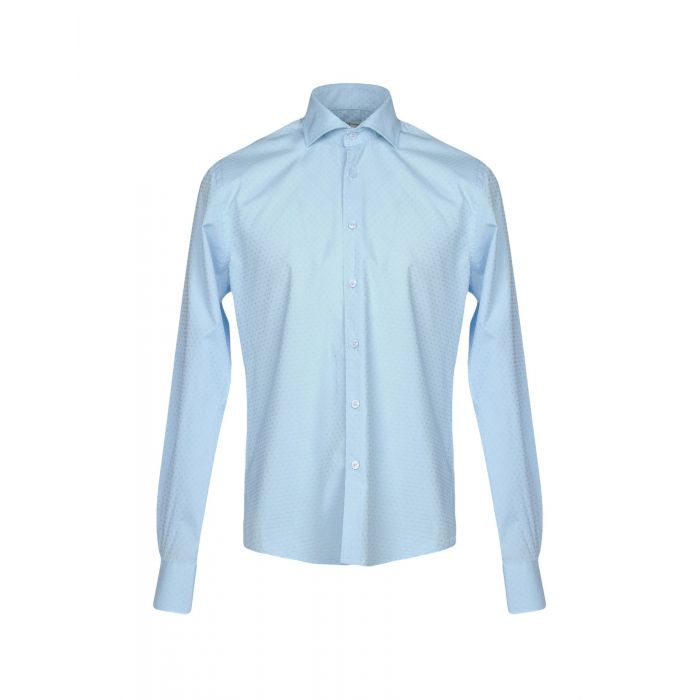 Image for Yes Zee By Essenza Man Sky blue Shirts