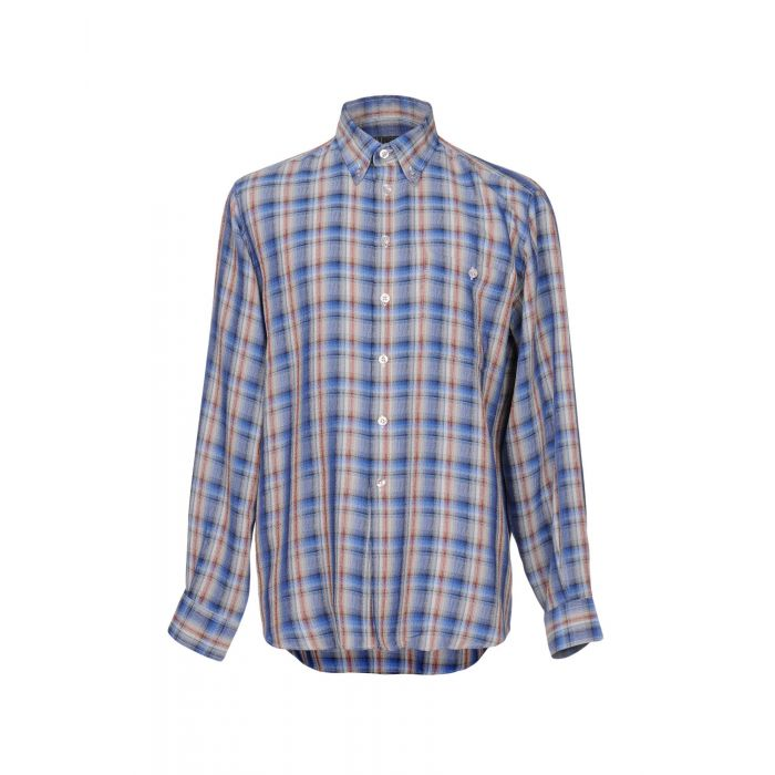 Image for Blue cotton shirt