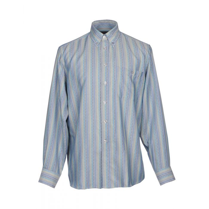 Image for Turquoise cotton shirt
