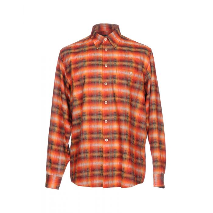 Image for Orange cotton shirt