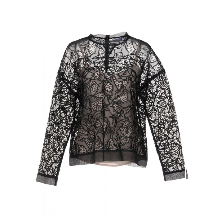 Image for Black silk blouse