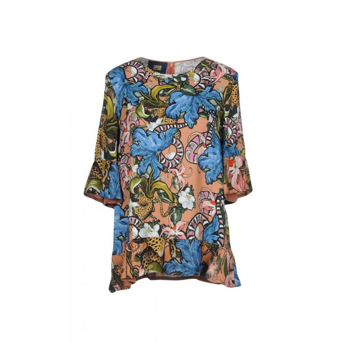 Image for Cavalli Class Pale pink Viscose Bluse