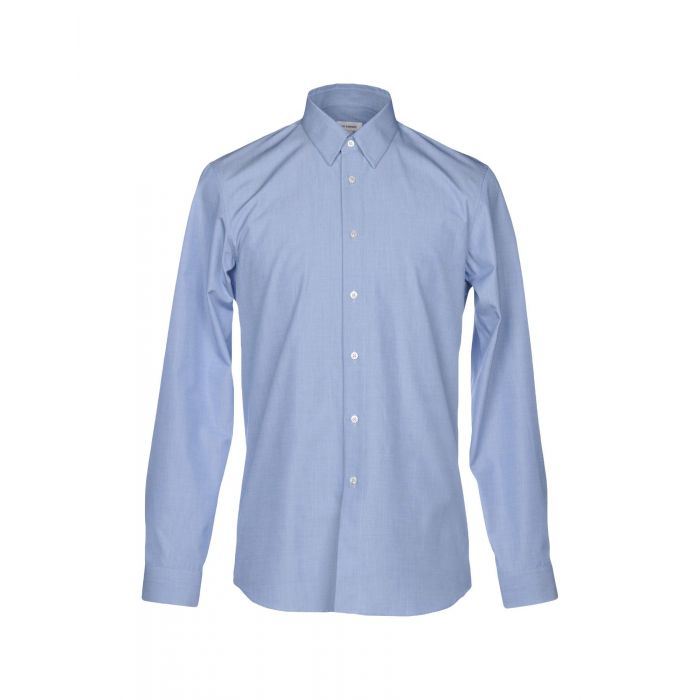 Image for Pastel blue cotton shirt