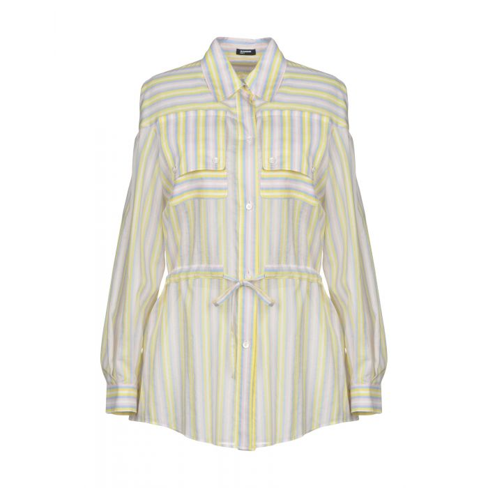 Image for Jil Sander Navy Yellow Cotton Camicie