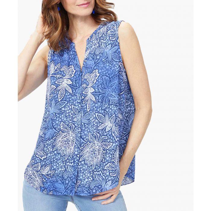 Image for Malibu floral blouse
