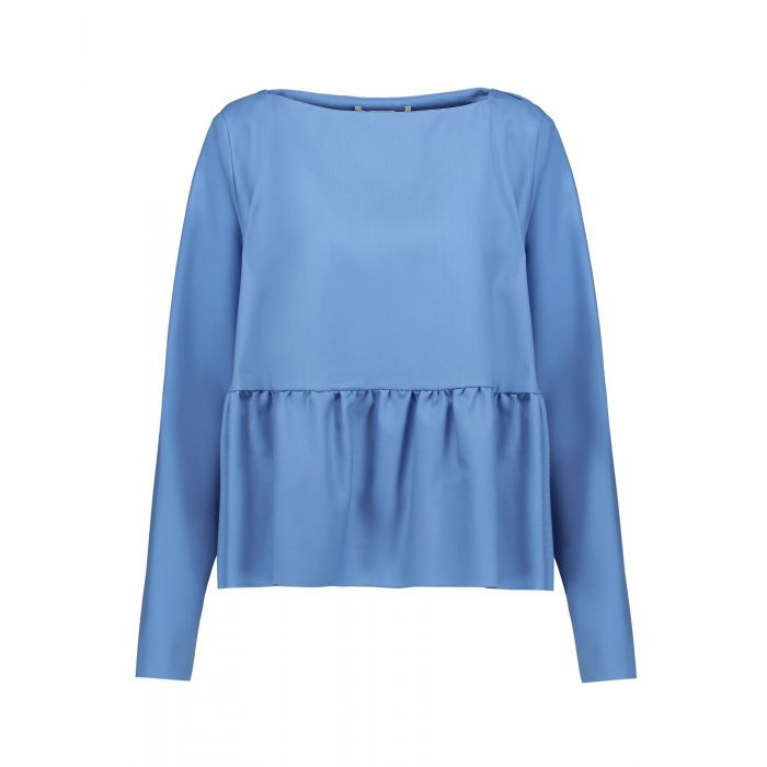 Image for Antonio Berardi Pastel blue Virgin Wool Bluse