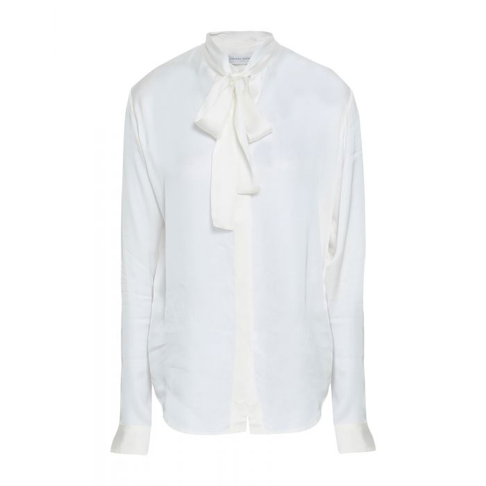 Image for White rayon shirt