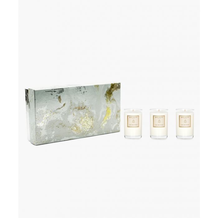Image for 3pc On The Rocks Pearl Ame Des Indes travel candle set