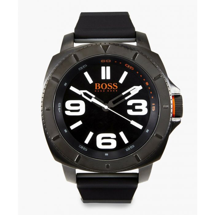 Image for Black stainless steel watch