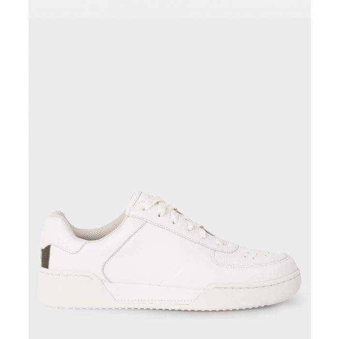 Image for White leather sneakers