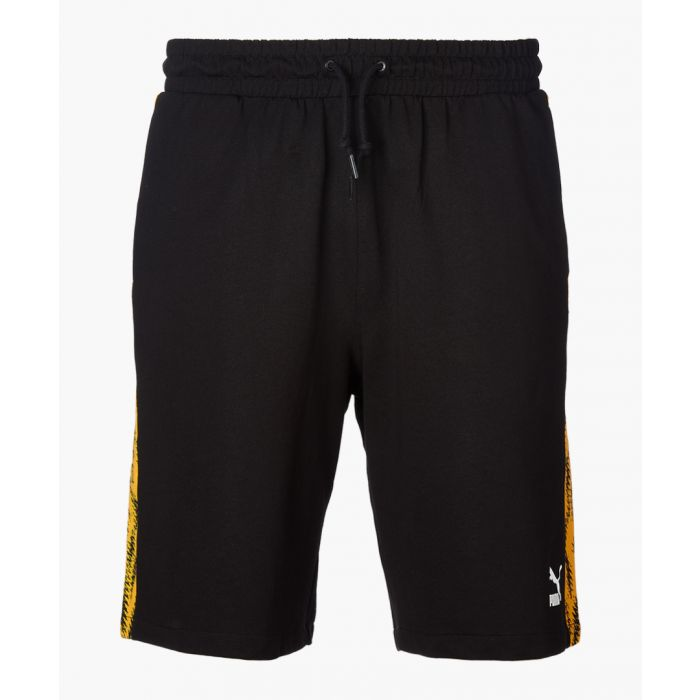 Image for Black cotton shorts