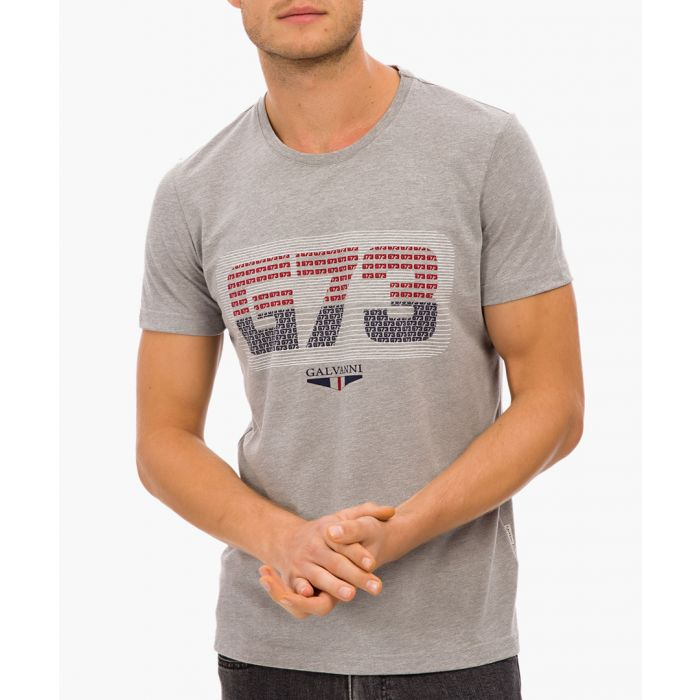 Image for Grey cotton T-shirt