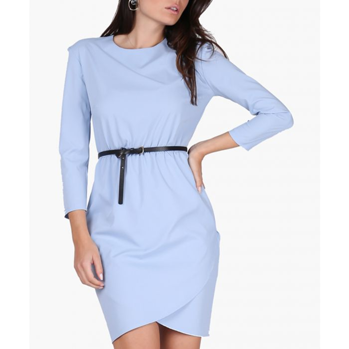 Image for Light & Blue Woven Dress