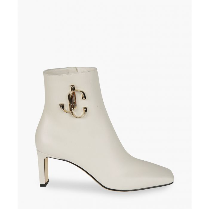 Image for Minori 65 cream leather boots