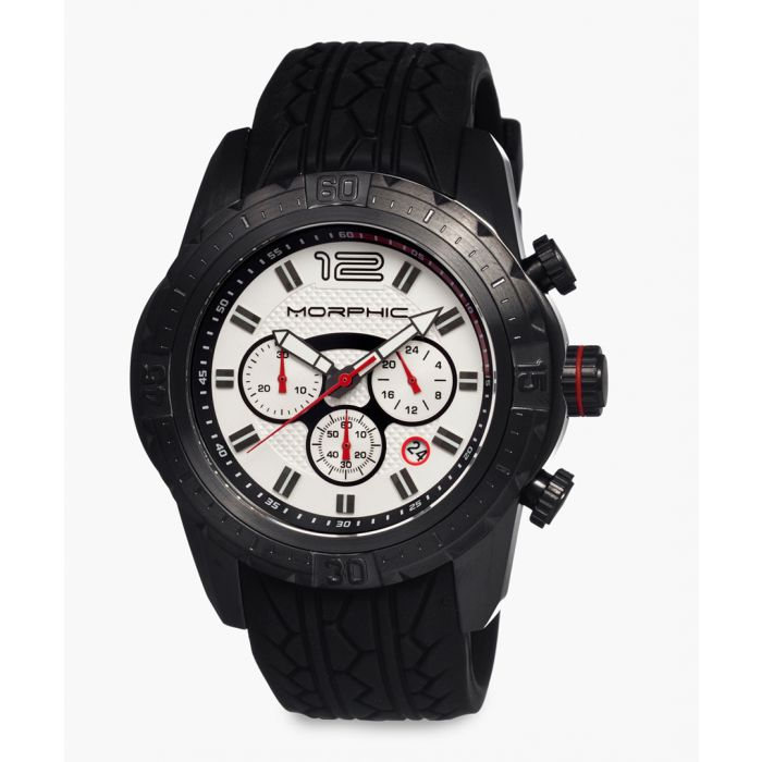 Image for M27 Series silicone and stainless steel chronograph watch