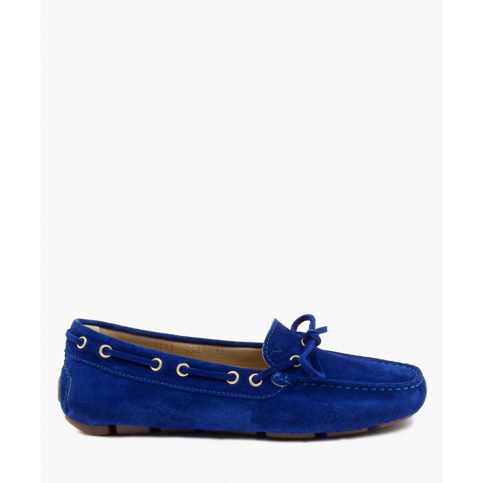 Image for Blue loafers