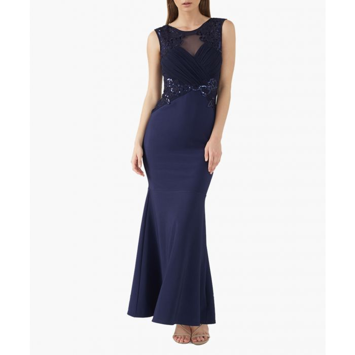 Image for Blue maxi dress