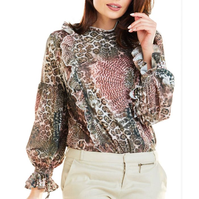 Image for Brown Blouse