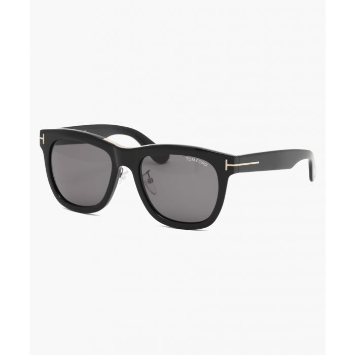 Image for Black and grey wayfarer sunglasses