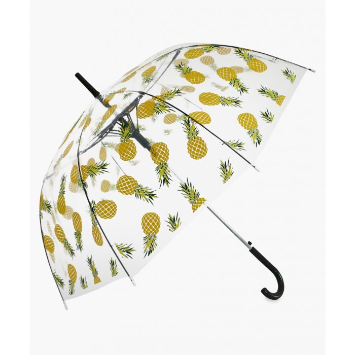 Image for Yellow pineapple transparent umbrella