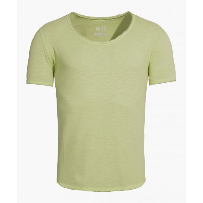 Image for Green cotton T-shirt