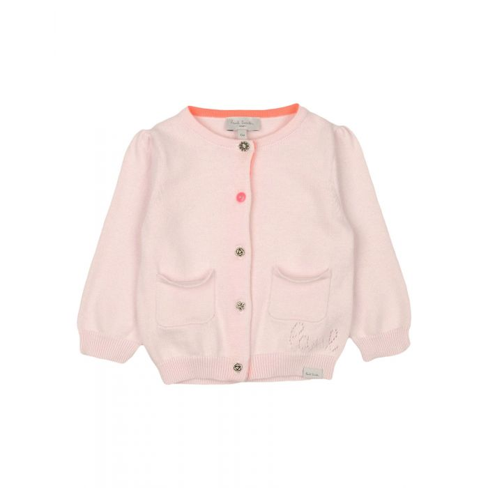 Image for Light pink cotton cardigan