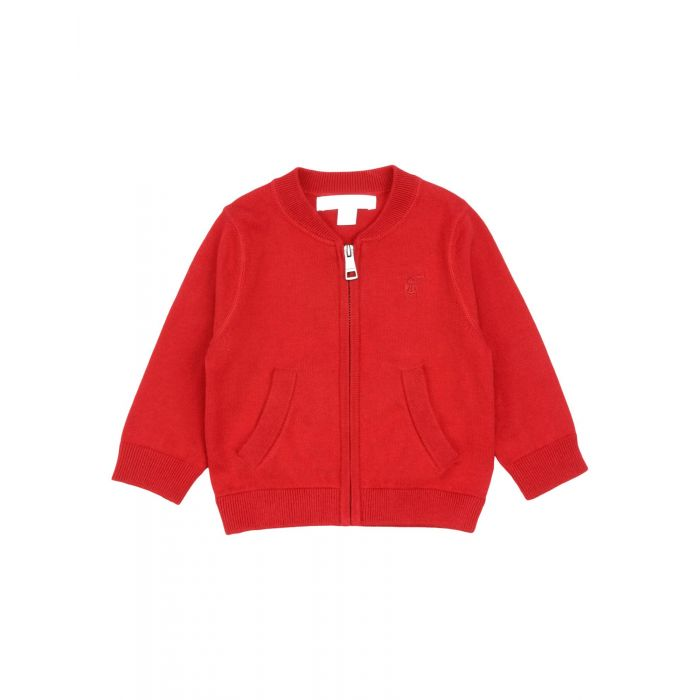 Image for Red cotton cardigan