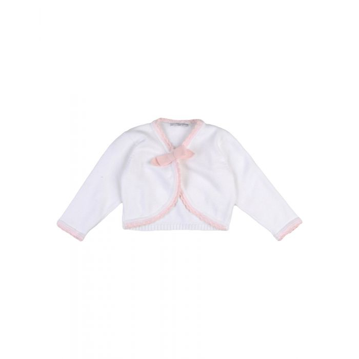 Image for White cotton cardigan