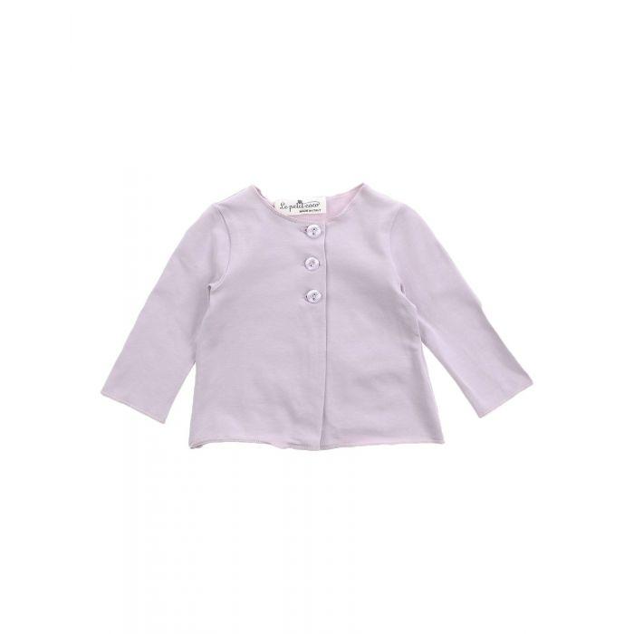 Image for Light purple cotton blend cardigan