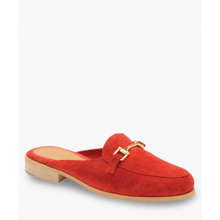 Image for Red slip-on shoes
