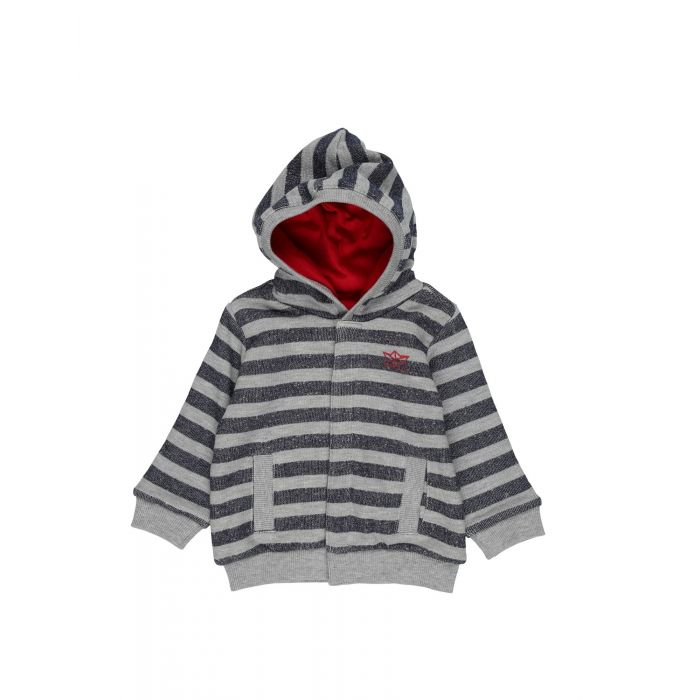 Image for Grey cotton cardigan
