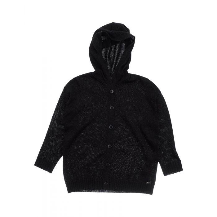 Image for Black wool cardigan