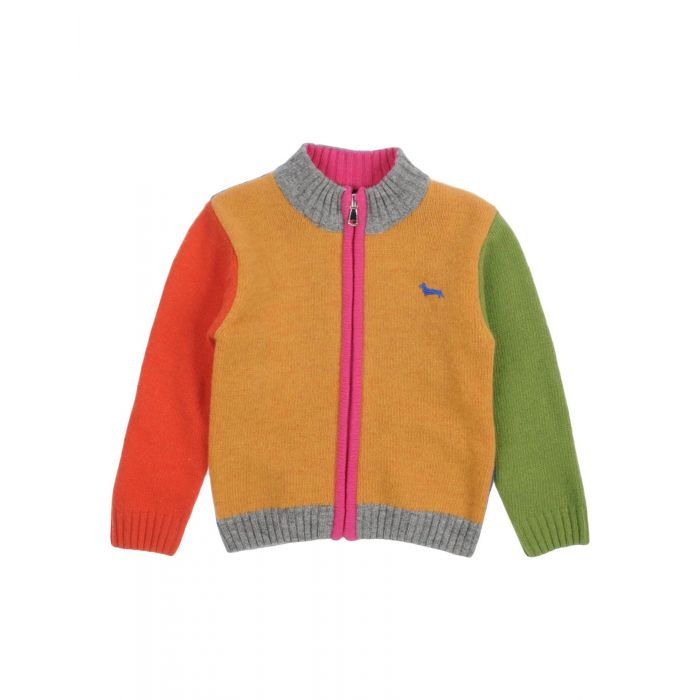 Image for Multi-coloured wool cardigan