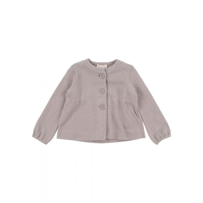 Image for Dove grey cotton cardigan