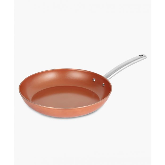 Image for Copper-tone forged frying pan 30cm