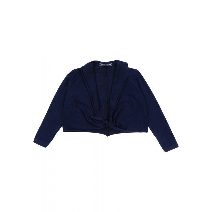 Image for Dark blue cotton cardigan