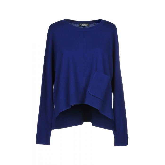 Image for Twinset Blue Wool Pullover