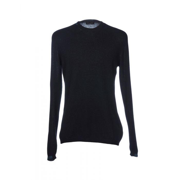 Image for Roberto Collina Black Cashmere Pullover