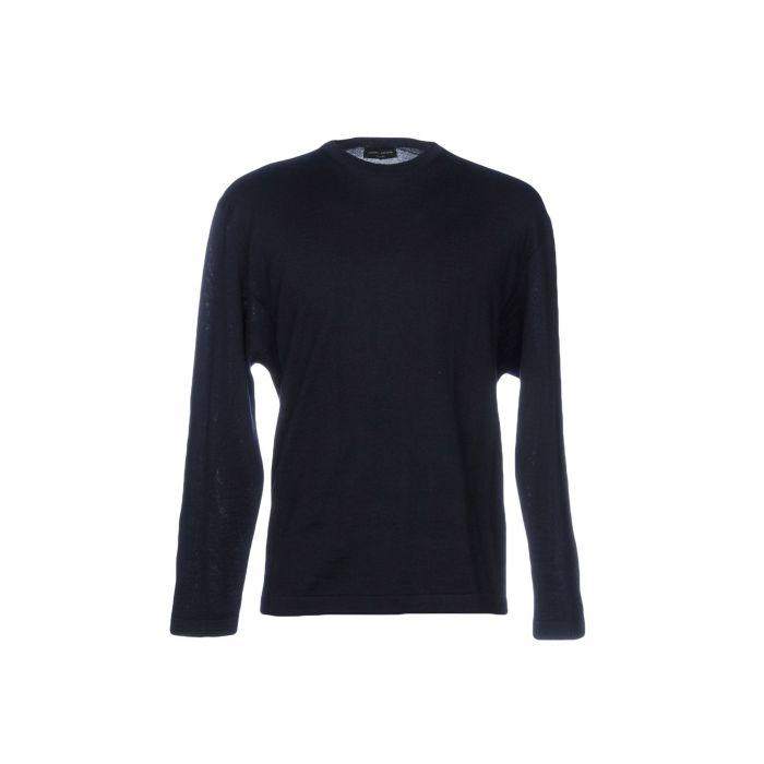Image for Roberto Collina Dark blue Merinos Wool Pullover