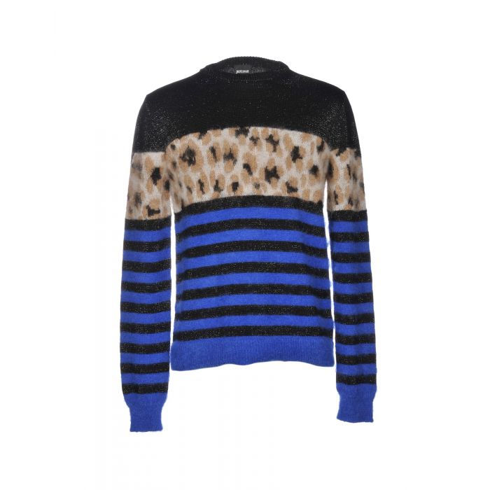 Image for Just Cavalli Black Wool Pullover