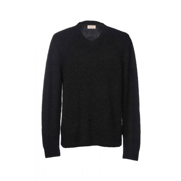 Image for American Vintage Steel grey Wool Pullover