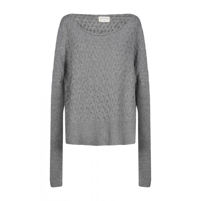 Image for Sonia De Nisco Woman Grey Jumpers