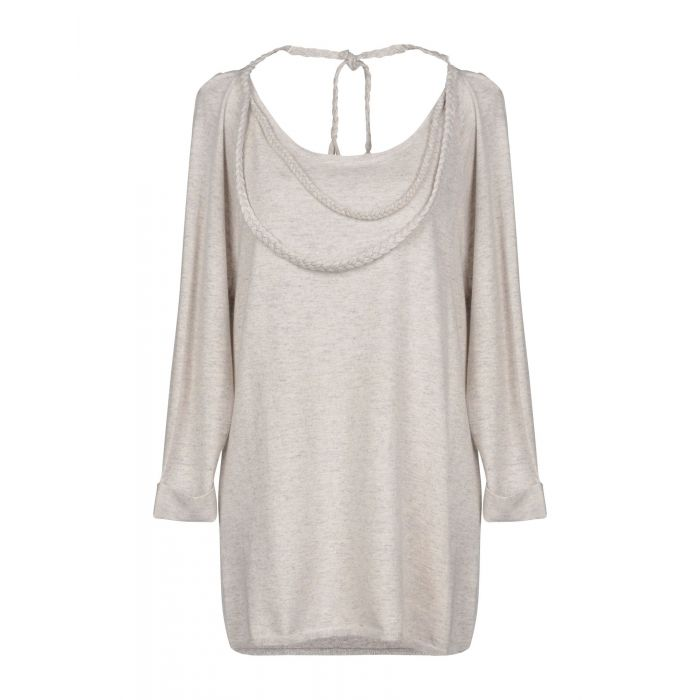 Image for Eric Bompard Cachemire Light grey Cashmere Pullover